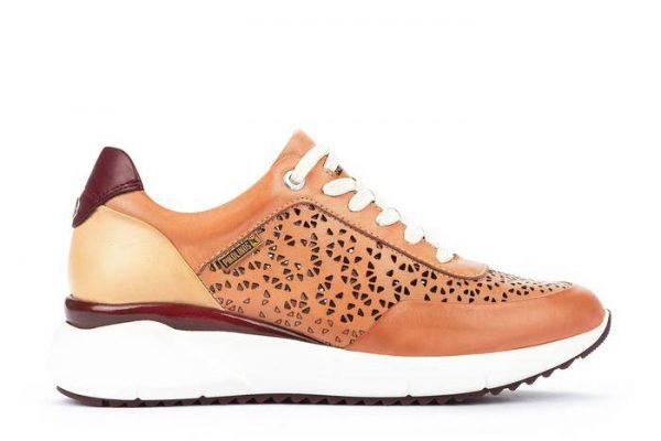 Pikolinos SELLA W6Z-6869C1 Leather Sneaker for Women - Blush