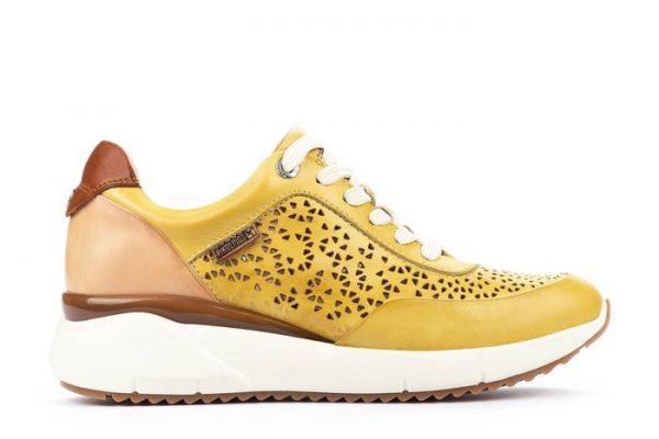 Pikolinos SELLA W6Z-6869C1 Leather Sneaker for Women - Sol