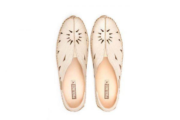 Pikolinos JEREZ 578-7399 Leather Women's Ballerina - Marfil