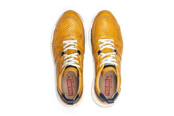 Pikolinos MELIANA M6P-6322 Leather Men's Sneaker - Honey