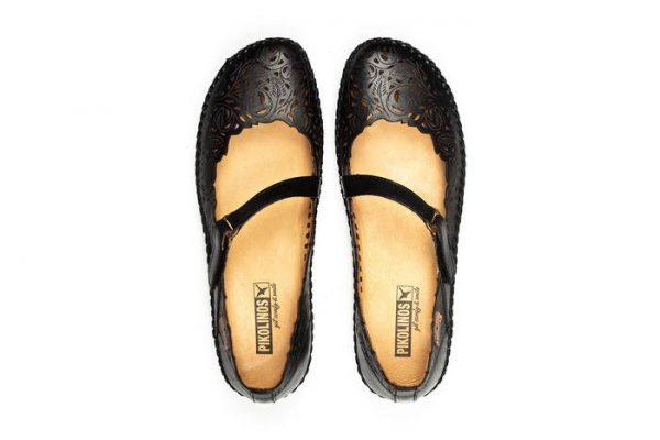 Pikolinos P. VALLARTA 655-0898 Leather Women's Sandal - Black