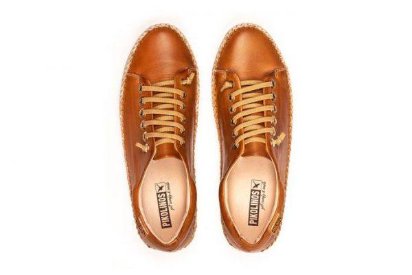 Pikolinos RIOLA W3Y-4925C1 Leather Sneaker for Women - Brandy