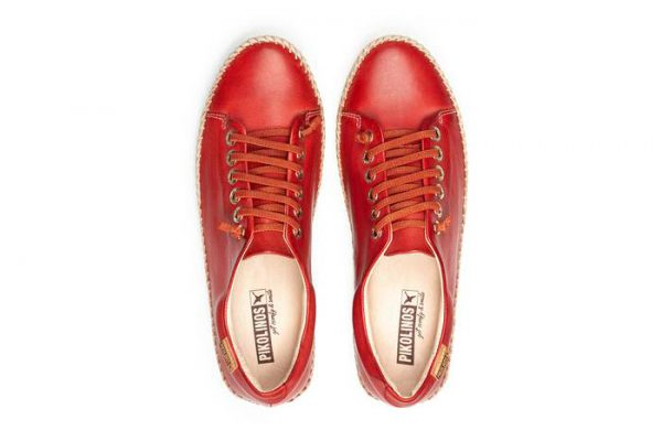 Pikolinos RIOLA W3Y-4925C1 Leather Sneaker for Women - Coral