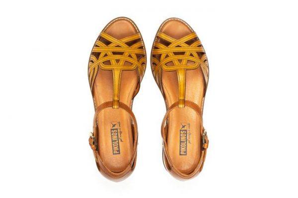 Pikolinos TALAVERA W3D-0668C1 Leather Women's Sandal - Honey