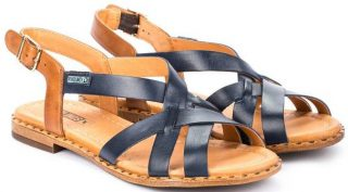 Pikolinos ALGAR W0X-0556 Leather Women's Sandal - Blue