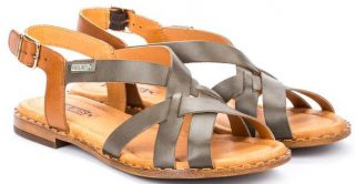 Pikolinos ALGAR W0X-0556 Leather Women's Sandal - Ficus
