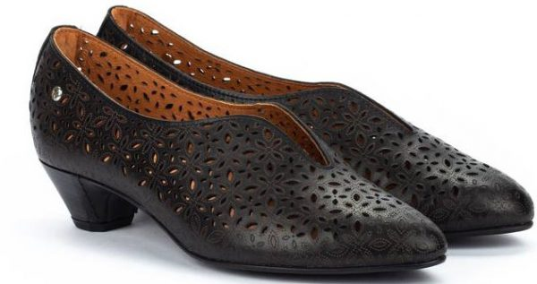 Pikolinos ELBA W4B-5900 Leather Women's Pumps - Black