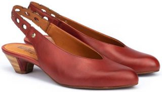Pikolinos ELBA W4B-5906 Leather Women's Pumps - Sandia