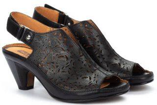 Pikolinos JAVA W5A-1805 Leather Women's Sandal - Black
