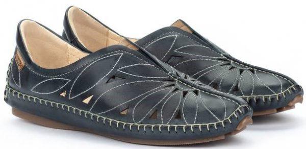 Pikolinos JEREZ 578-7399 Leather Women's Ballerina - Ocean
