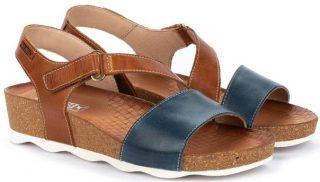 Pikolinos MAHON W9E-0833C1 Leather Women's Sandal - Sapphire