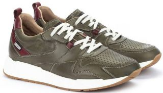 Pikolinos MELIANA M6P-6322 Leather Men's Sneaker - Pickle