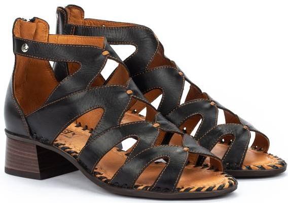 Pikolinos MELILLA W4G-1907 Leather Women's Sandal - Black