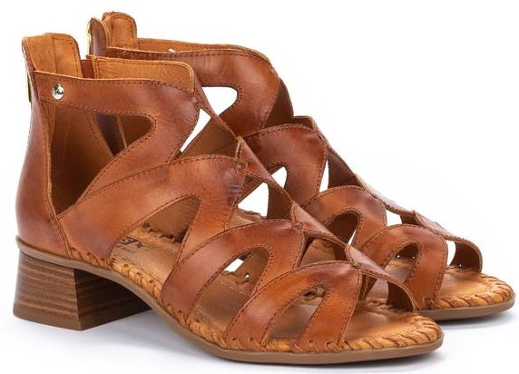 Pikolinos MELILLA W4G-1907 Leather Women's Sandal - Brown
