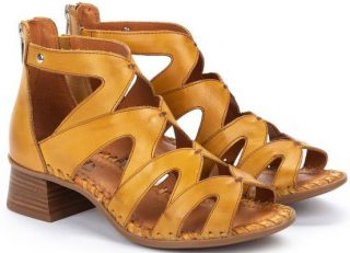 Pikolinos MELILLA W4G-1907 Leather Women's Sandal - Honey