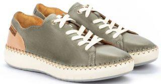 Pikolinos Mesina W6B-6836 Leather Sneaker for Women - Sage