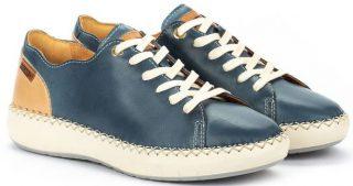 Pikolinos Mesina W6B-6836 Leather Sneaker for Women - Sapphire