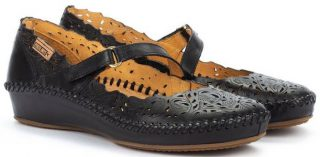 Pikolinos P. VALLARTA 655-0898 Leather Women's Sandal - Black