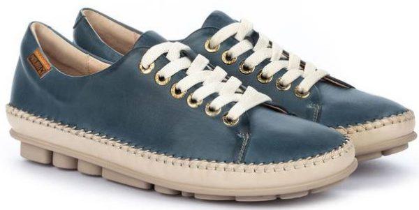 Pikolinos RIOLA W3Y-4925C1 Leather Sneaker for Women - Sapphire