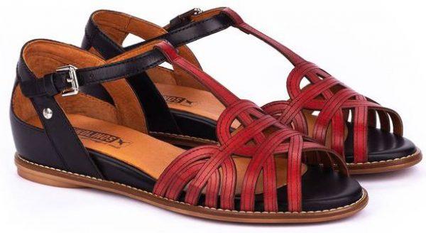 Pikolinos TALAVERA W3D-0668C1 Leather Women's Sandal - Coral