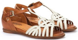 Pikolinos TALAVERA W3D-0668C1 Leather Women's Sandal - White