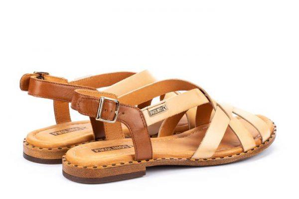 Pikolinos ALGAR W0X-0556 Leather Women's Sandal - Bamboo