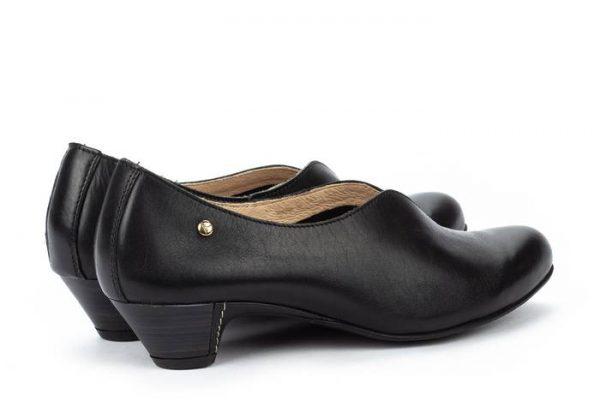Pikolinos ELBA W4B-1716 Leather Women's Pumps - Black