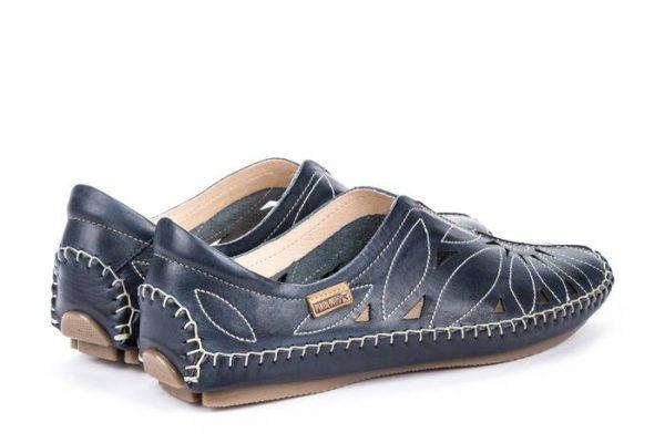 Pikolinos JEREZ 578-7399 Leather Women's Ballerina - Blue