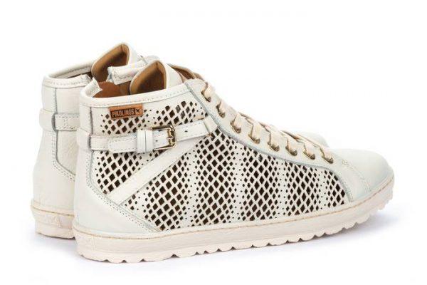 Pikolinos LAGOS 901-8651 Leather Sneaker for Women- Nata