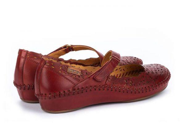 Pikolinos P. VALLARTA 655-0898 Leather Women's Sandal - Sandia