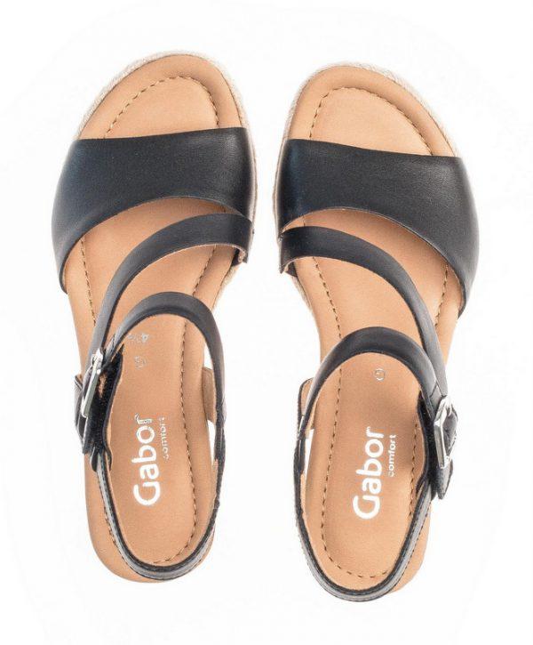 Gabor 42.834.57 Women Sandal - Black