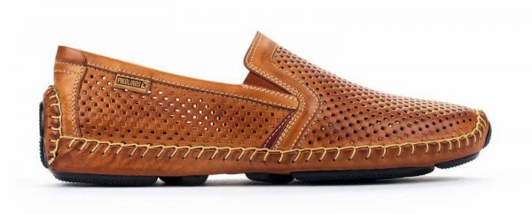 Pikolinos JEREZ 09Z-3100 Leather Slip-on Shoe for Men - Brandy