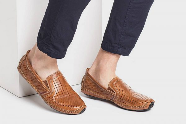 Pikolinos JEREZ 09Z-3100 Leather Slip-on Shoe for Men - Brandy