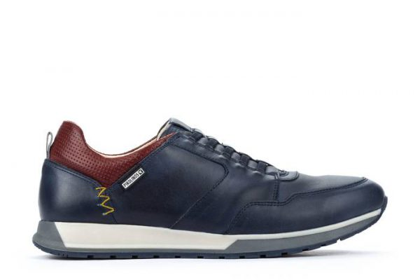 Pikolinos CAMBIL M5N-6256 Leather Men's Sneaker - Blue