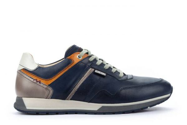 Pikolinos CAMBIL M5N-6319 Leather Men's Sneaker - Blue