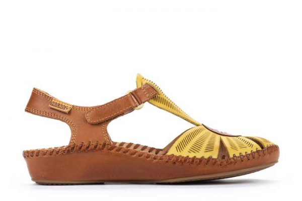 Pikolinos P. VALLARTA 655-0575 Leather Women's Sandal - Sol