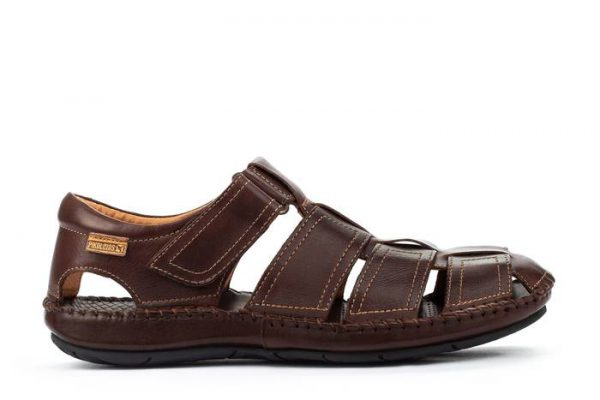 Pikolinos TARIFA 06J-5433 Leather Sandals for Men - Olmo