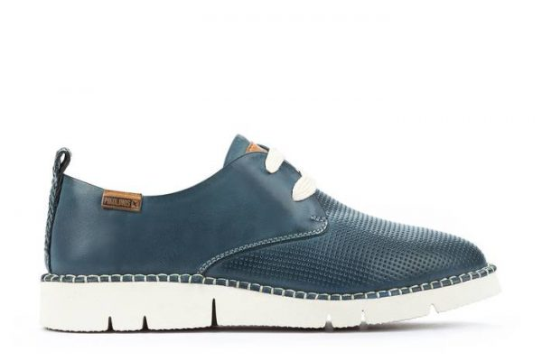Pikolinos Vera W4L-6780 Leather Lace-Up Shoe for Women - Sapphire