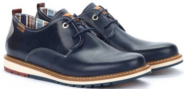 Pikolinos BERNA M8J-4273 Leather Lace-up Shoe for Men - Blue