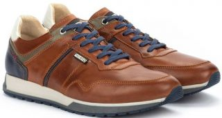 Pikolinos CAMBIL M5N-6319 Leather Men's Sneaker - Cuero