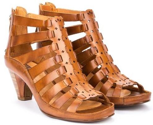 Pikolinos JAVA W5A-1701 Leather Women's Sandal - Brandy