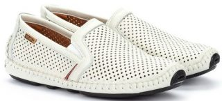 Pikolinos JEREZ 09Z-3100 Leather Slip-on Shoe for Men - White