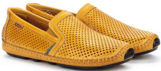 Pikolinos JEREZ 09Z-3100 Leather Slip-on Shoe for Men - Honey