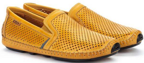 Pikolinos JEREZ 09Z-3100 Leather Slip-on Shoe for Men - Honey