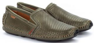 Pikolinos JEREZ 09Z-3100 Leather Slip-on Shoe for Men - Pickle