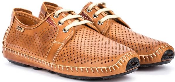 Pikolinos JEREZ 09Z-6038 Leather Lace-up Shoe for Men - Brandy