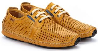 Pikolinos JEREZ 09Z-6038 Leather Lace-up Shoe for Men - Honey