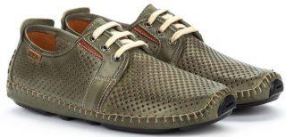 Pikolinos JEREZ 09Z-6038 Leather Lace-up Shoe for Men - Pickle