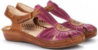Pikolinos P. VALLARTA 655-0575 Leather Women's Sandal - Orchid