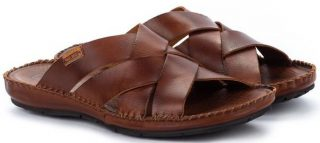 Pikolinos TARIFA 06J-0015 Leather Sandals for Men - Cuero